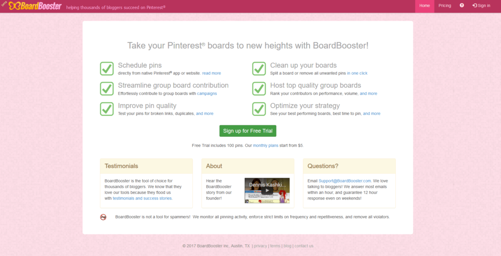 Board Booster Free Trial