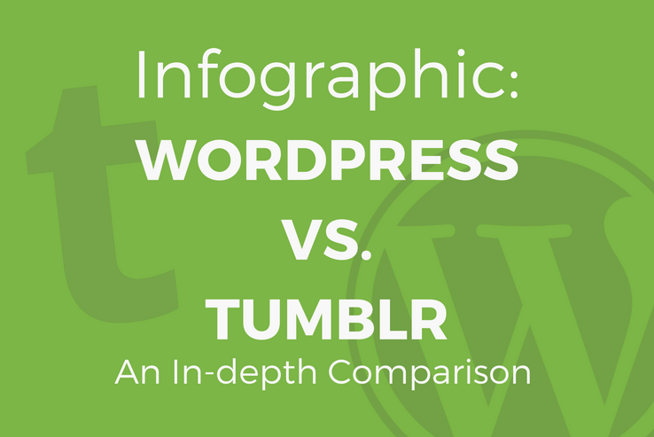 Infographic: WordPress versus Tumblr