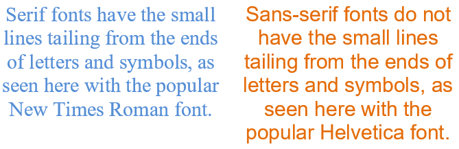 How to Choose the Best Sans-Serif Font for Your Website