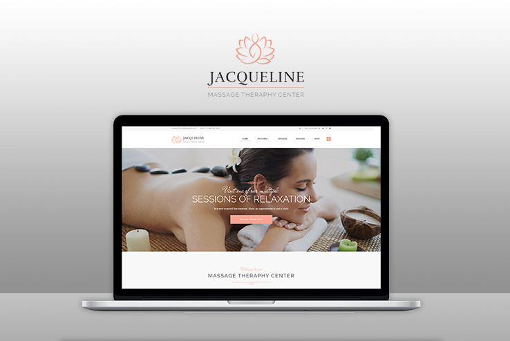 Jacqueline Theme for Spas and Salons