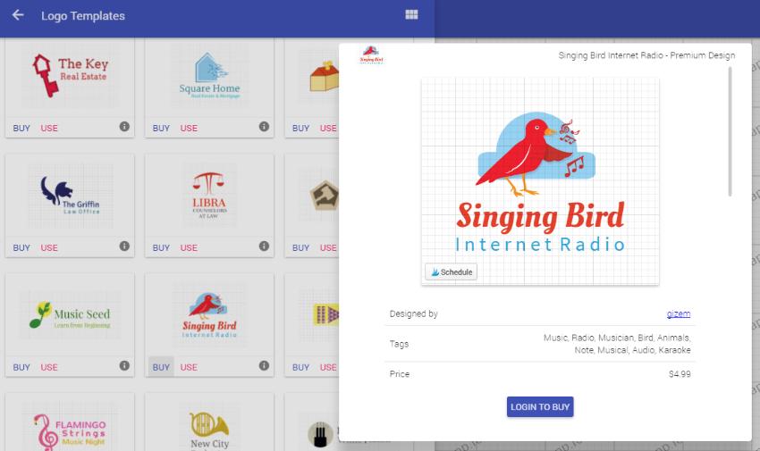 DesignApp free logo maker