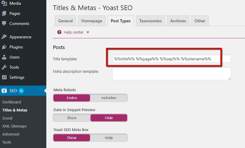 yoast seo vs all in one seo the interface comparison