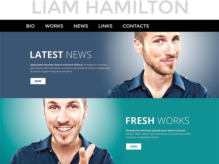 Page WordPress Theme