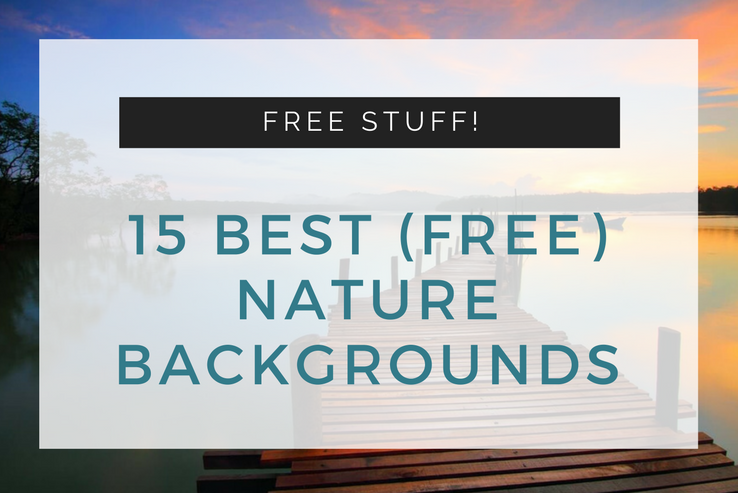 15 Free Nature Backgrounds