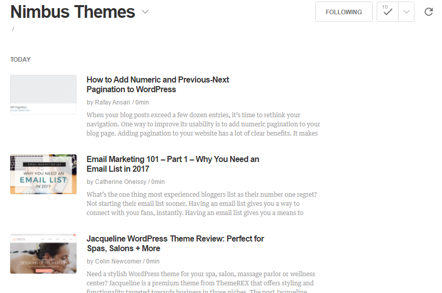 How to Get Started with the RSS Feed in WordPress