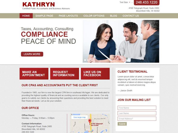 Kathryn - CPA Theme