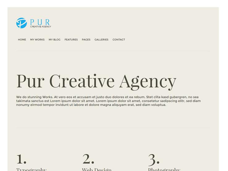 Pur - Creative Design