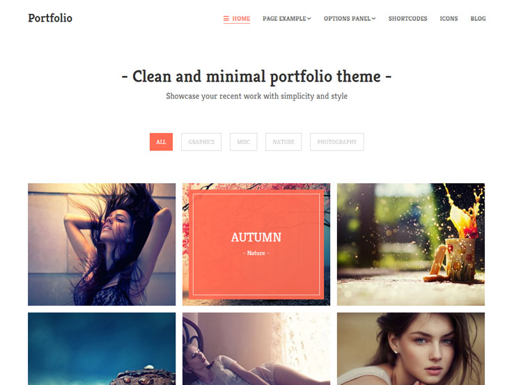 Portfolio from MyThemeShop