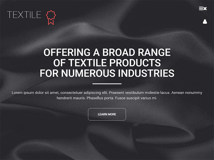 Textile WordPress Theme