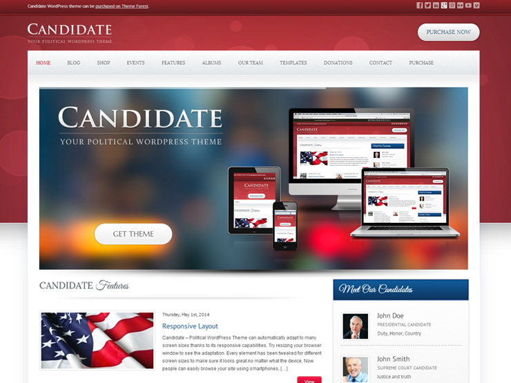 Candidate Theme