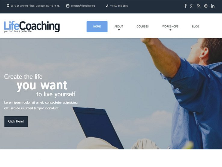 30+ WordPress Coaching Themes 2017