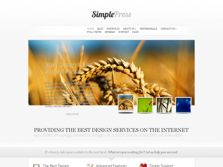 SimplePress by Elegant Themes