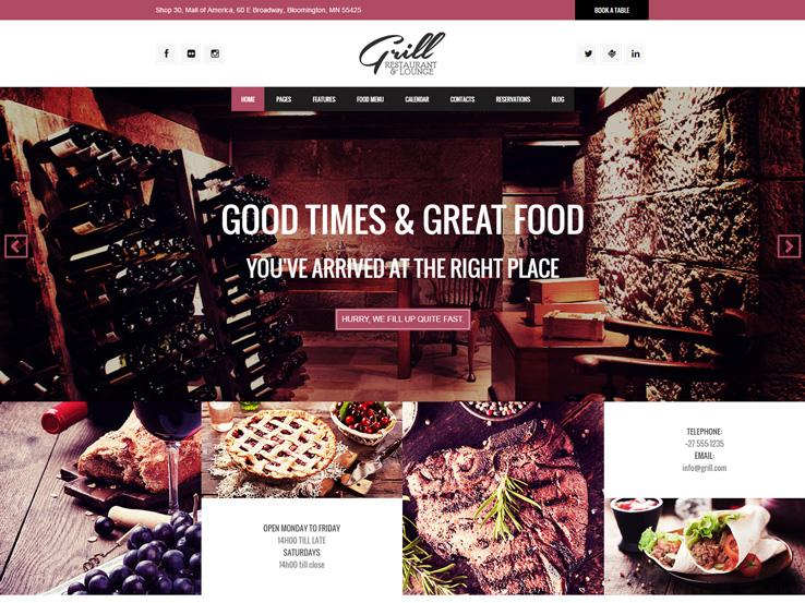 Grill Parallax Restaurant & Events