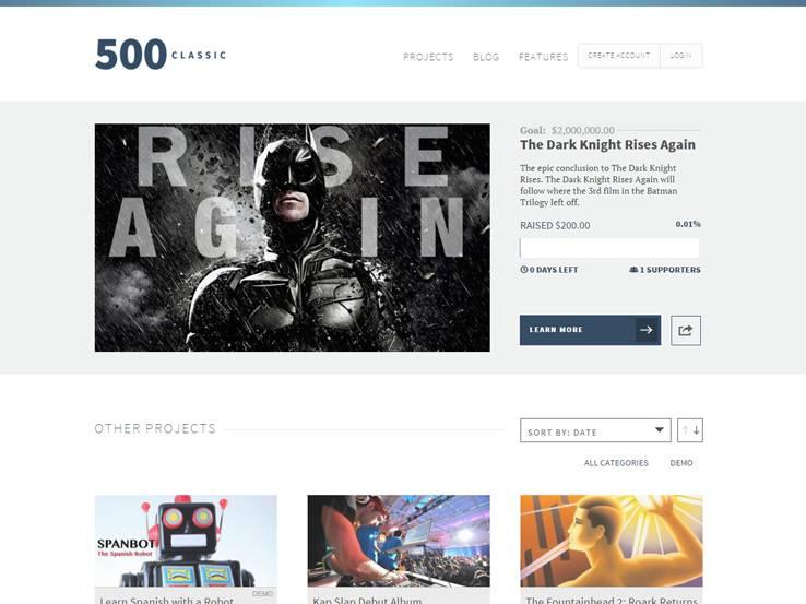 500 Classic Crowdfunding
