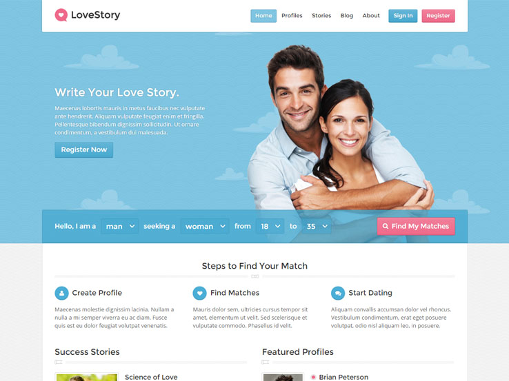 Creating a hookup site with wordpress