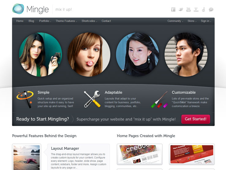 Love Story Community & Dating Wordpress Theme