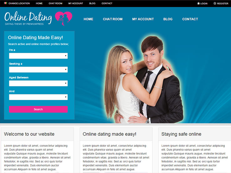 Dating Theme for WordPress