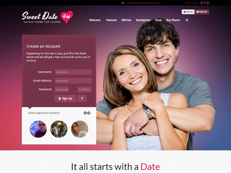 Free wordpress dating site