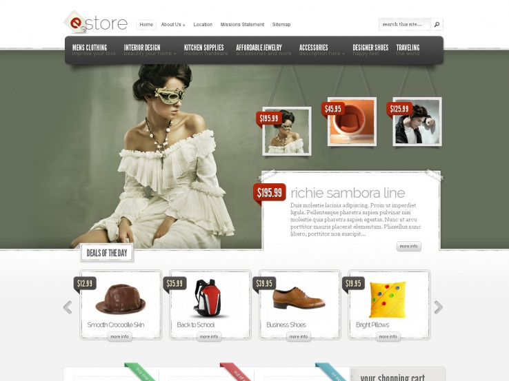 Estore by Elegant Themes