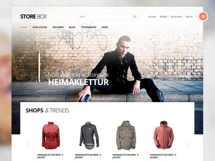 Store Box by Gavick Themes