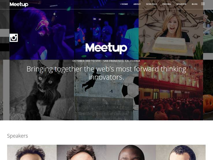 Meetup - Conference & Event