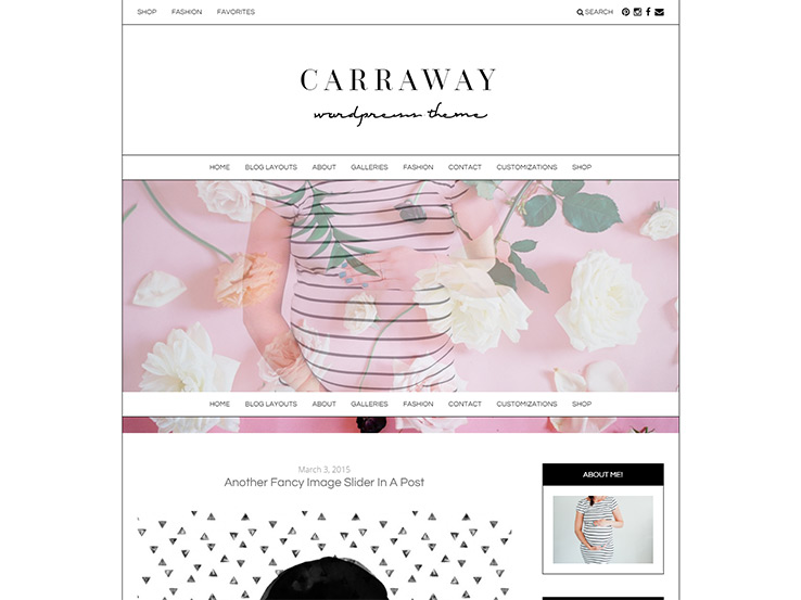 Carraway - A new theme from Angiemakes