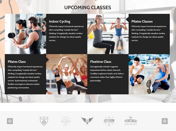 Fitness WordPress