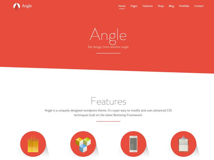 angle themes