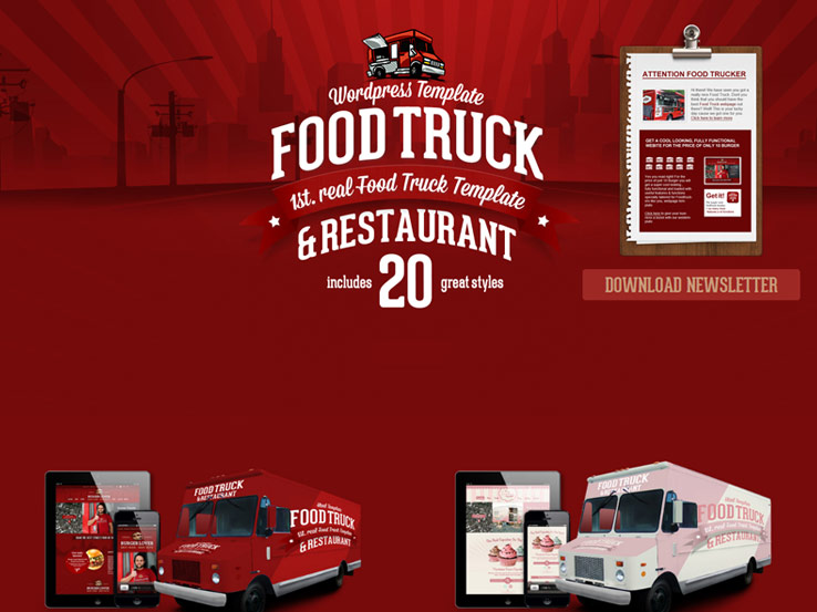 Food Truck & Restaurant Theme
