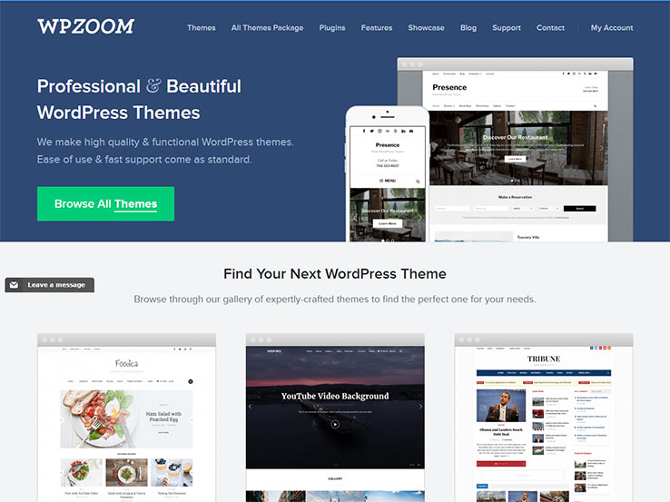 WPZoom All Themes Package