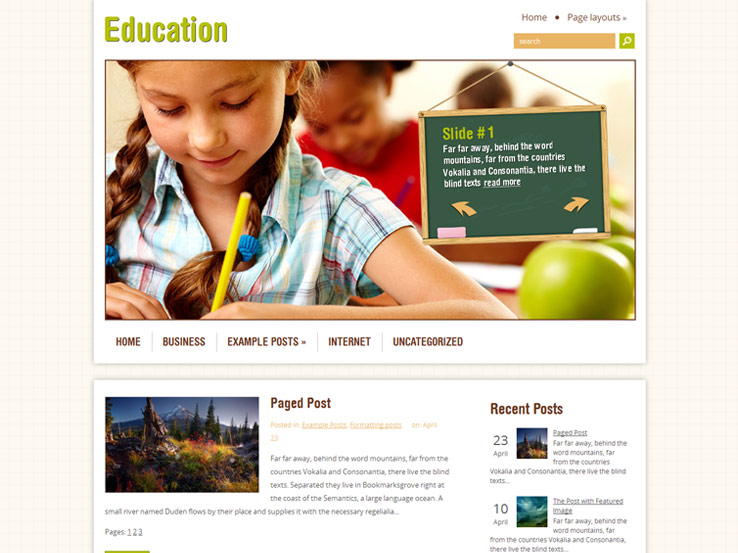 14+ Free Education WordPress Themes 2019