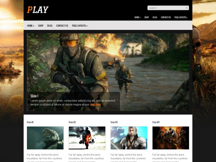 19+ Free WordPress Gaming Themes 2019