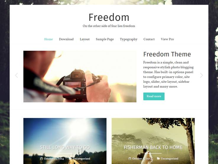 Freedom - Stylish and Modern