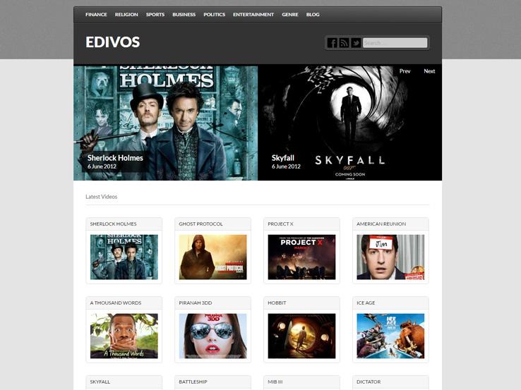 20+ Free WordPress Video Themes