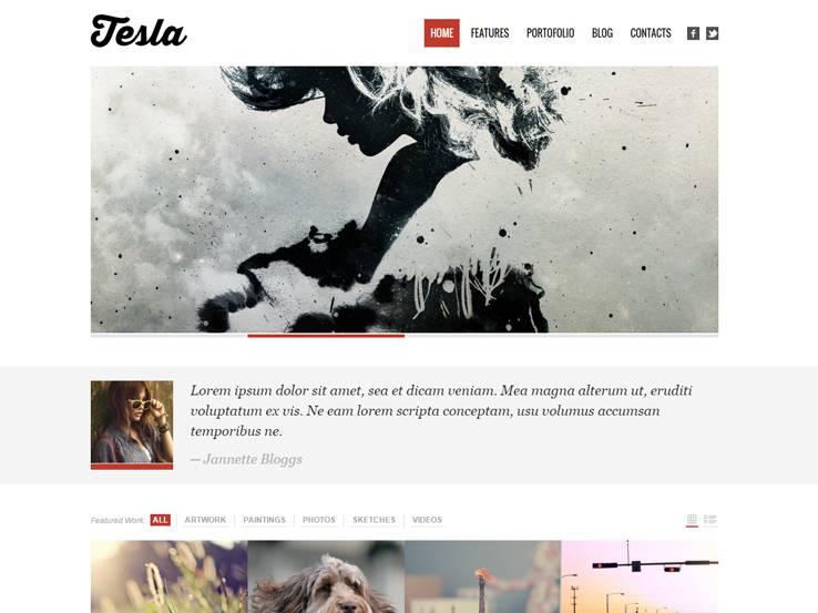 Tesla - Free Theme