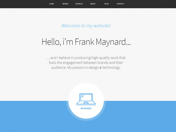 Freelancer WordPress Theme