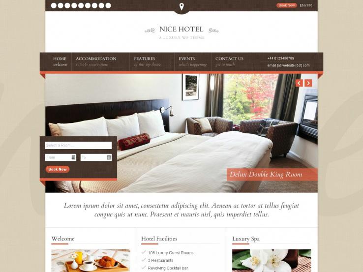 f383471b9fa4f8 23+ Best WordPress Hotel Themes 2019