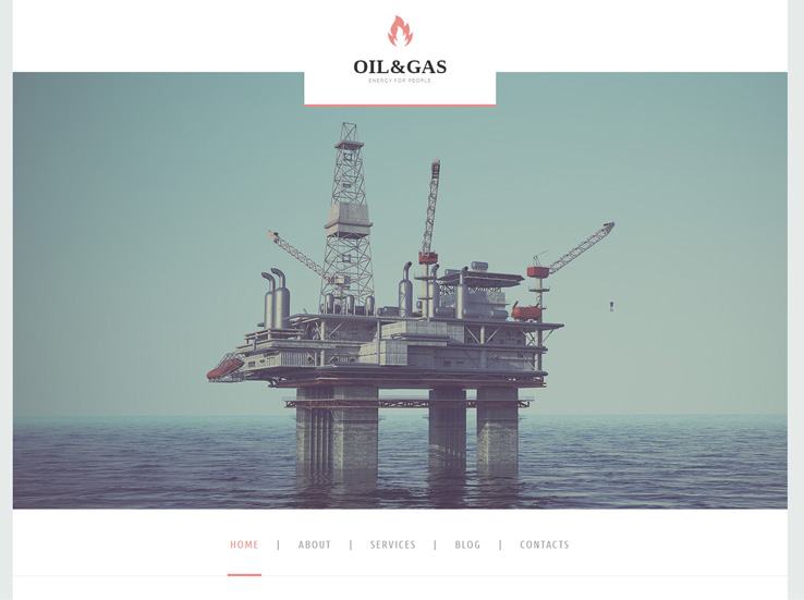 Oil & Gas Company Theme