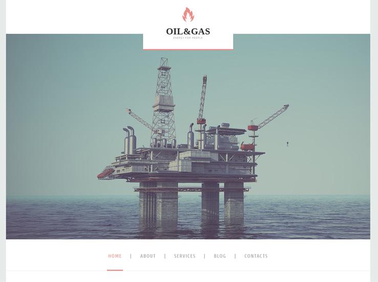 Oil & Gas Company Theme
