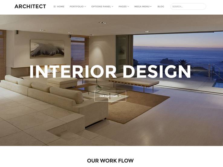 85 best interior design wordpress themes for Interior design wordpress theme