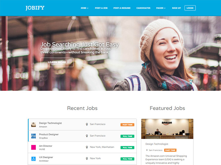 25+ Best Wordpress Job Board Themes 2019