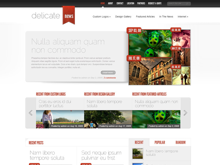 15+ WordPress Themes for Journalists