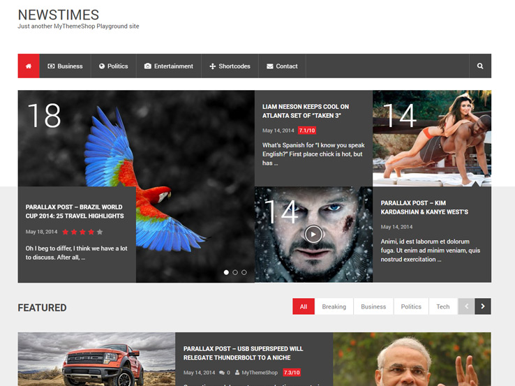 NewsTimes by MyThemeShop