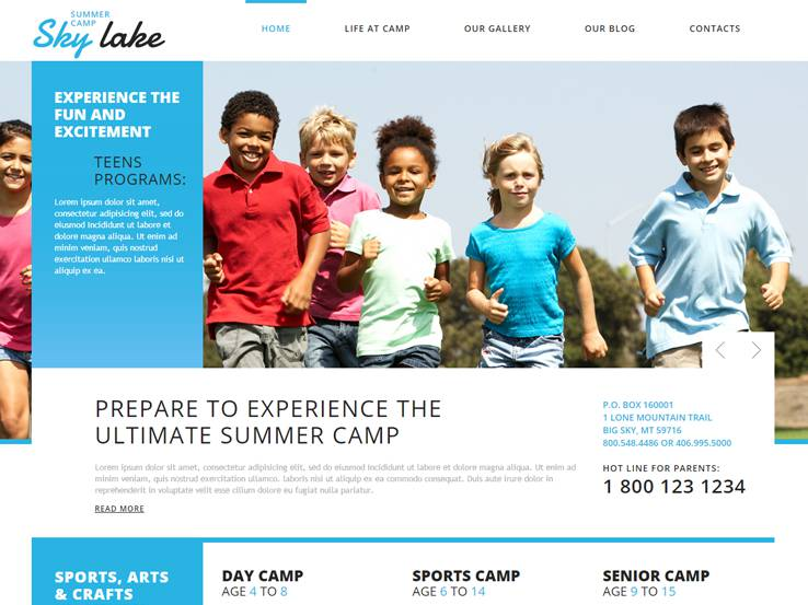 Happy Summer Camp