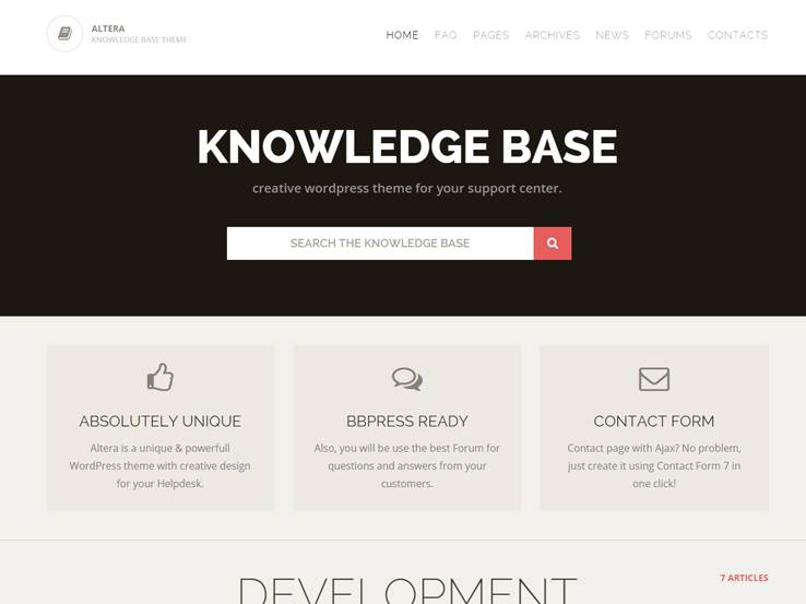 18 Knowledge Base Wordpress Themes
