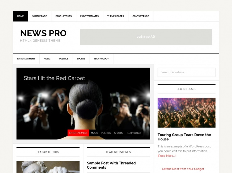 News Pro Theme by Studio Press