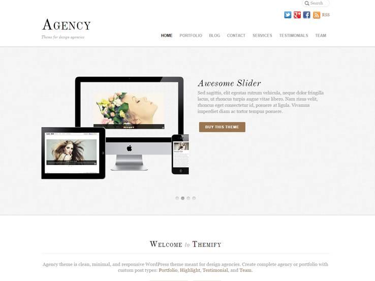 Agency - Themify Agency Theme