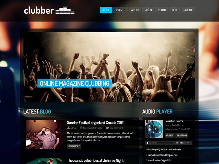 Clubber - Events and Music