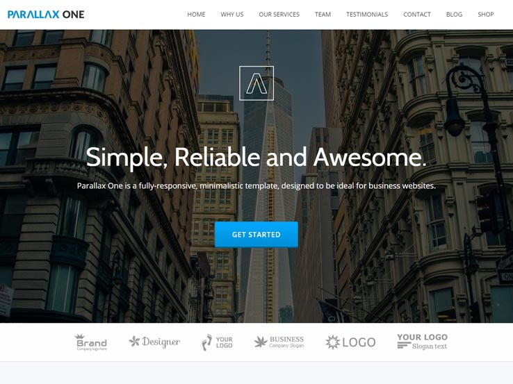 60 free business wordpress themes 2018 accmission Image collections