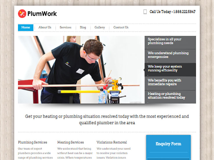 PlumWork by Inkthemes